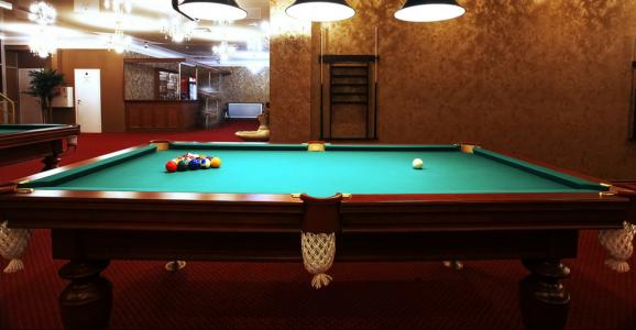 restored pool table ma