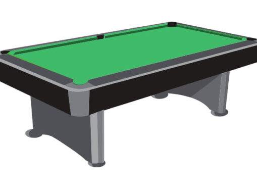 Pool table illustration image